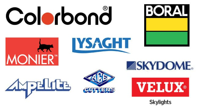 major roofing brands australia