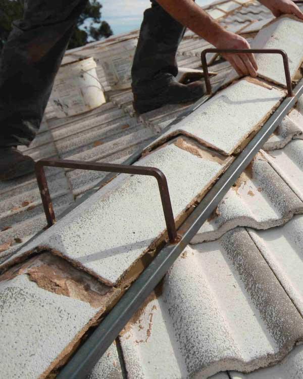 sydney roof repairs pointing ridgecap