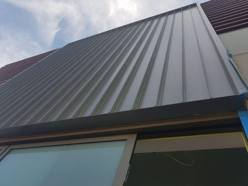 metal cladding inner west