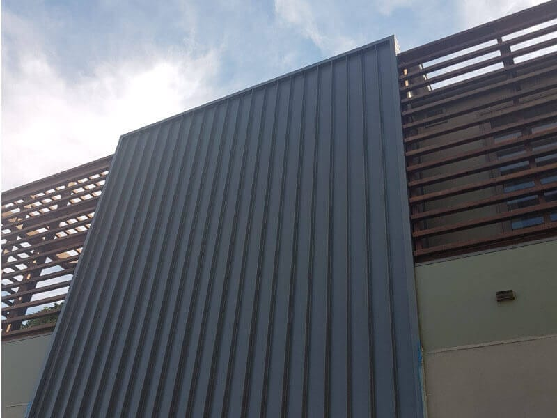metal cladding sydney west newtown