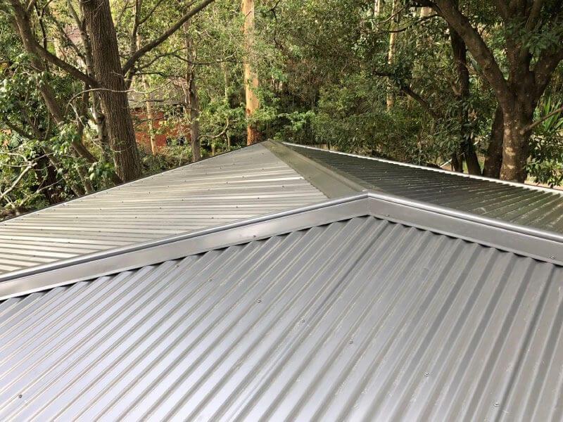colorbond metal roof sydney western suburbs