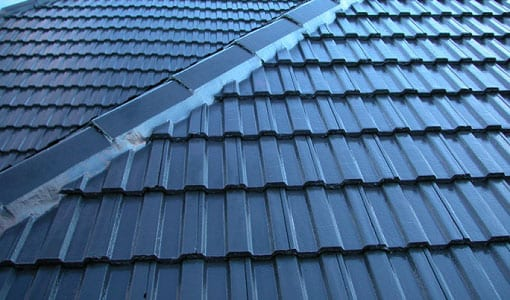 concrete tiled roofing