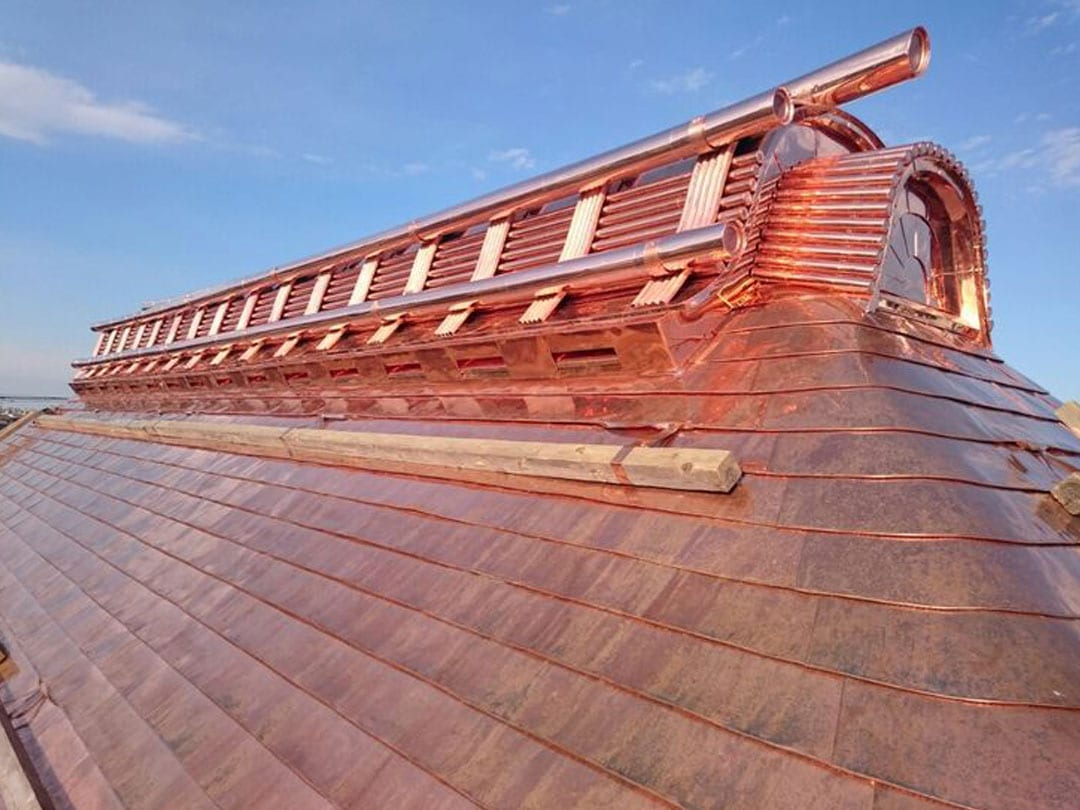copper roof sydney